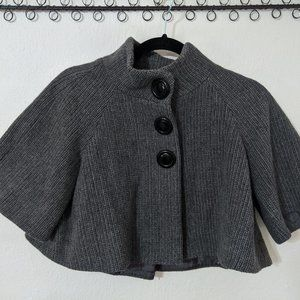 Grey Sweater Caplet (M)